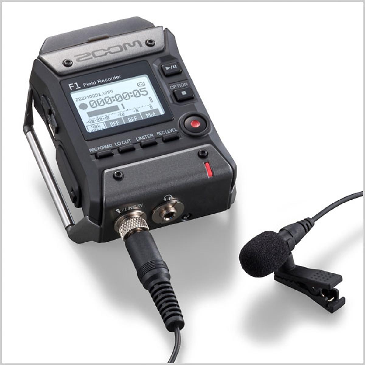 Máy ghi âm không dây cài áo zoom